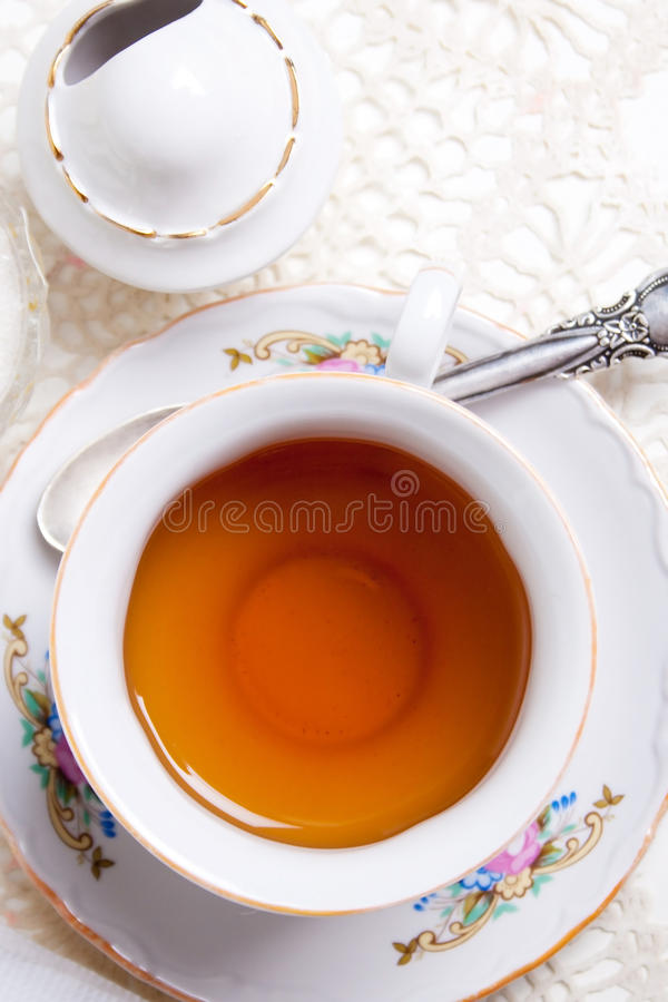Download English high tea stock image. Image of spoon, cover, dishes - 16827823