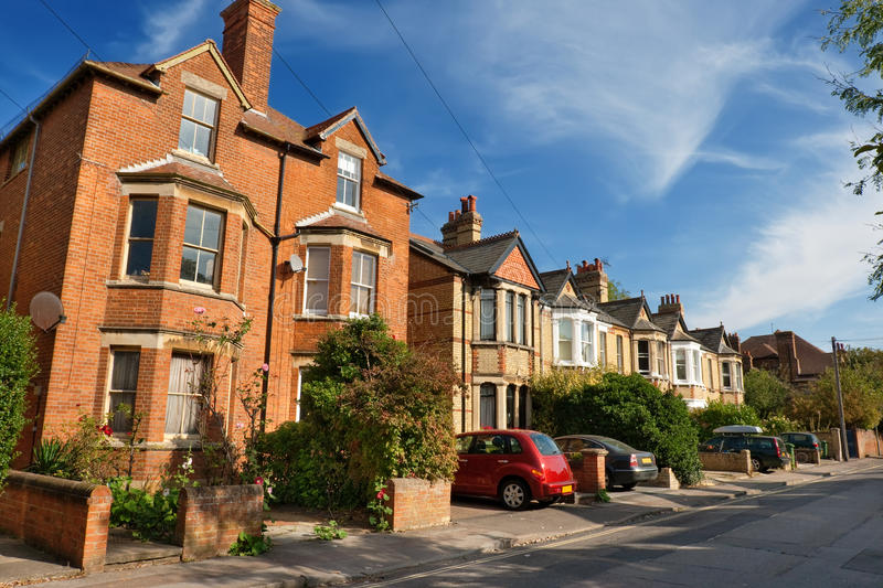 Download English houses stock image. Image of road, home, city - 13014535