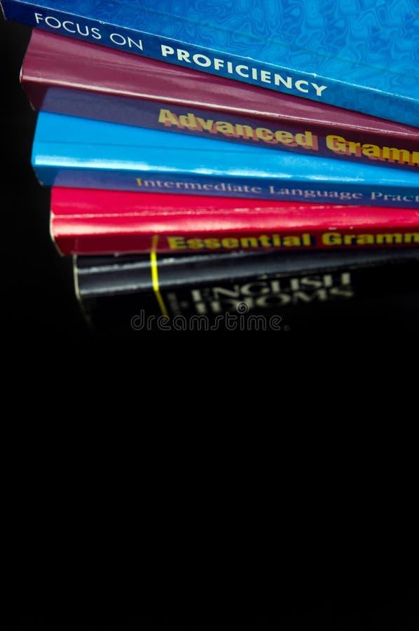 English Language Book stock photography