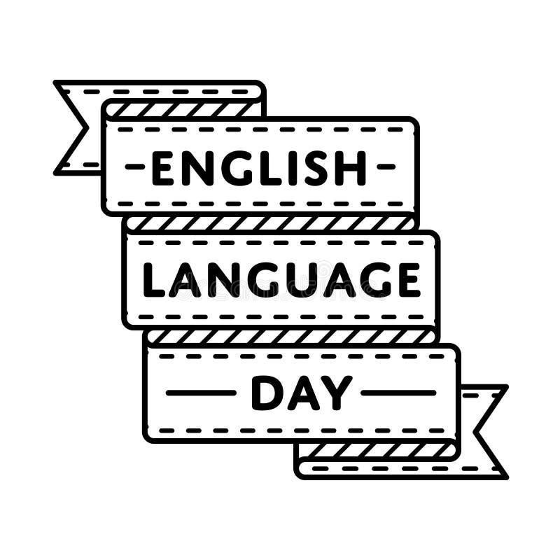 English language day greeting emblem stock vector illustration of download english language day greeting emblem stock vector illustration of conservation graphic 84950037 m4hsunfo