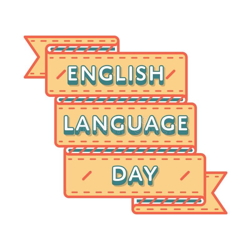 English language day greeting emblem stock vector illustration of download english language day greeting emblem stock vector illustration of creative logo 85386348 m4hsunfo