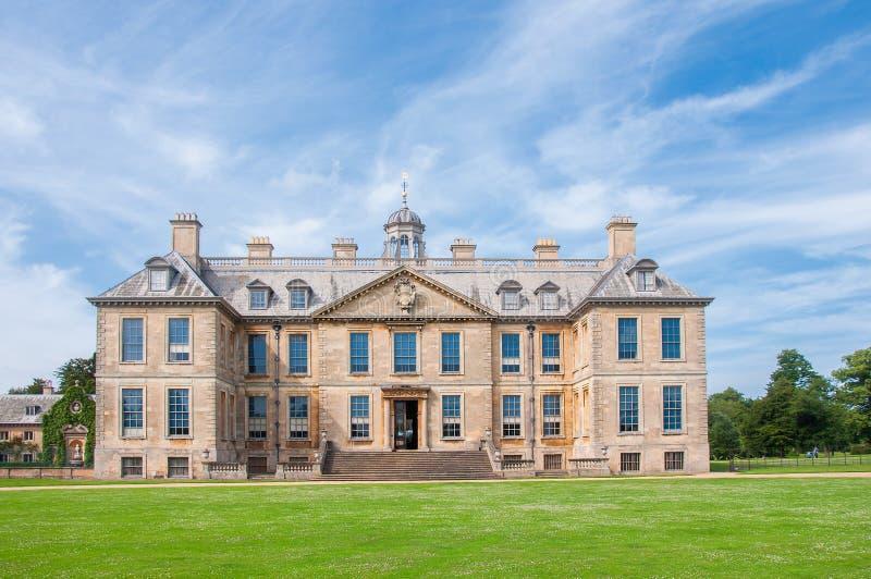 English manor from 17th century. Belton, UK stock photography