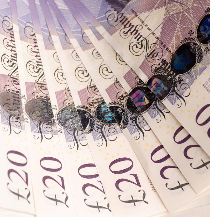 English Money Stock Photography