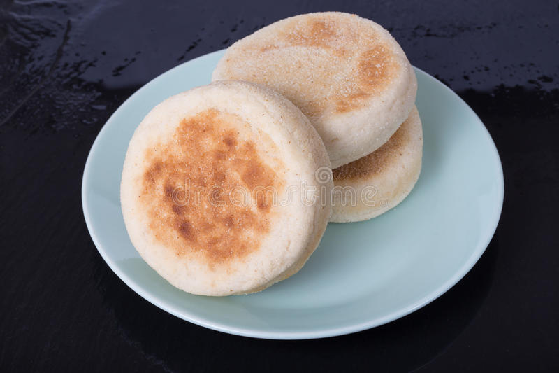 Download English Muffins stock image. Image of crumpet, food, bakery - 52507371