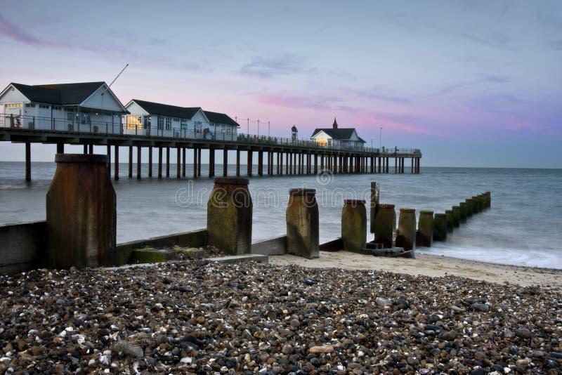 English Pier royalty free stock photo