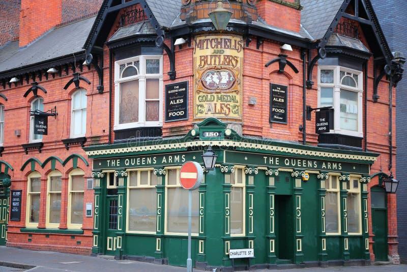 English pub royalty free stock image