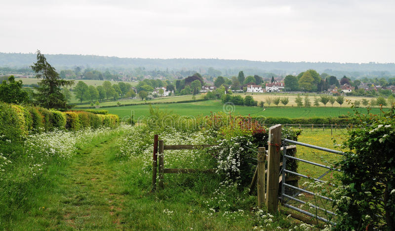Download An English Rural Landscape stock photo. Image of rural - 24494292
