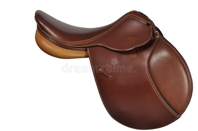English Saddle royalty free stock photo