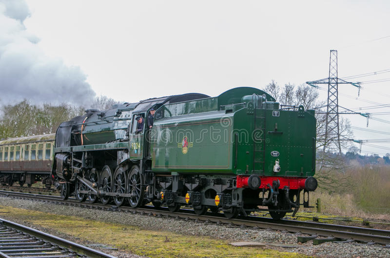 English steam train royalty free stock images