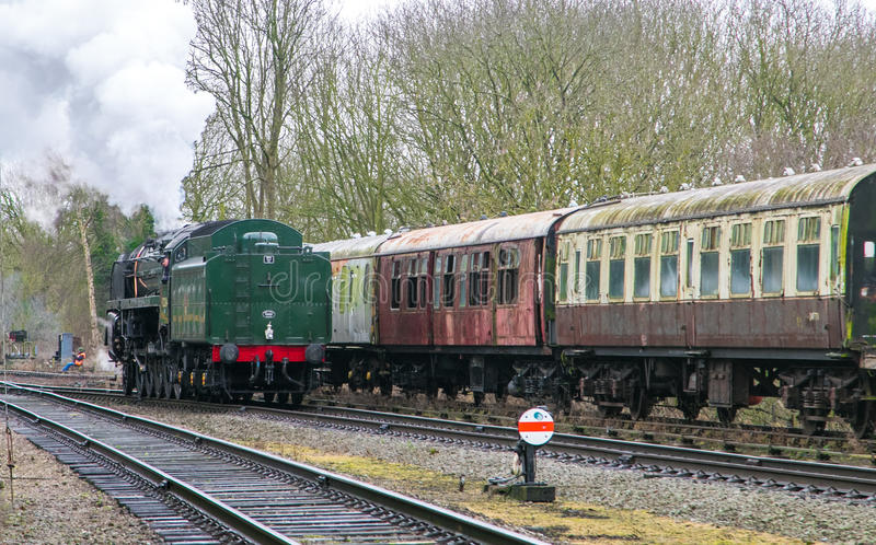English steam train stock images