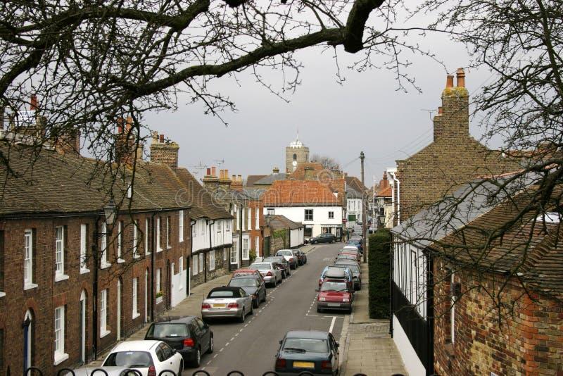 English street scene royalty free stock image
