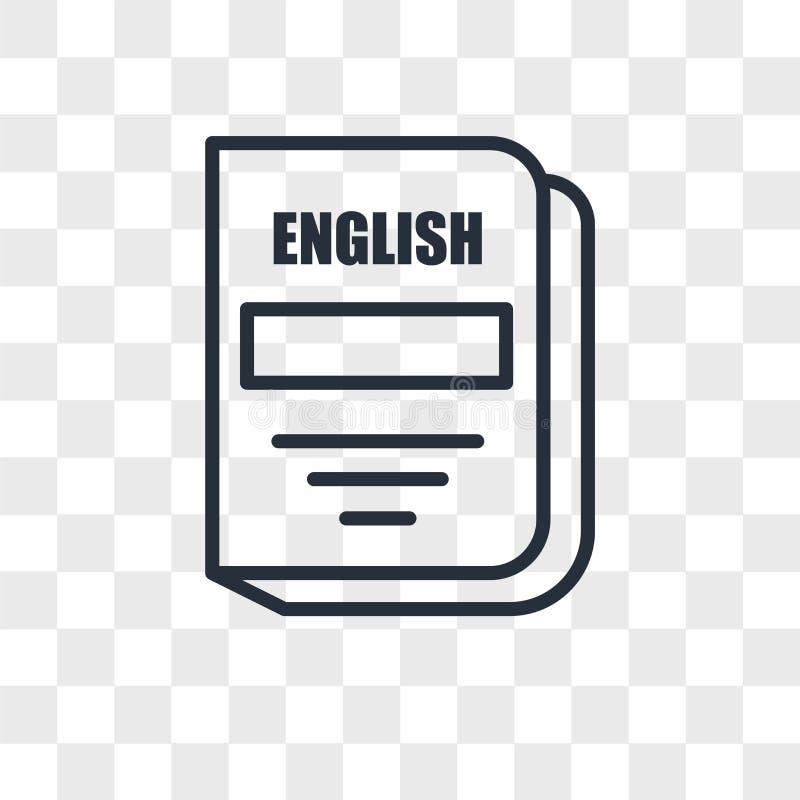 English Subject Vector Icon Isolated On Transparent Background English Subject Logo Design Stock Illustration Illustration Of School Formula 118964102