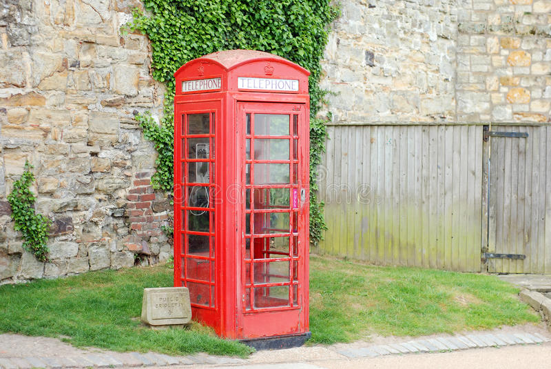 Download English telephone booth stock photo. Image of stone, typical - 20126514