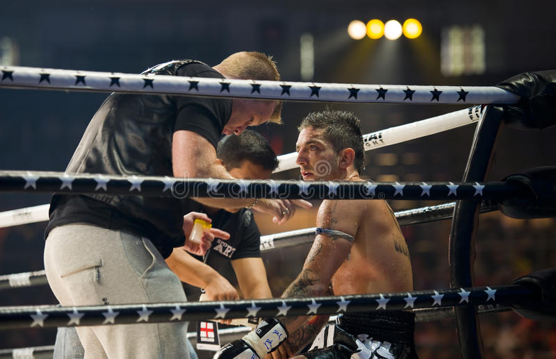 Download English Thaiboxing World Champion Liam Harrison Editorial Photography - Image: 15821782