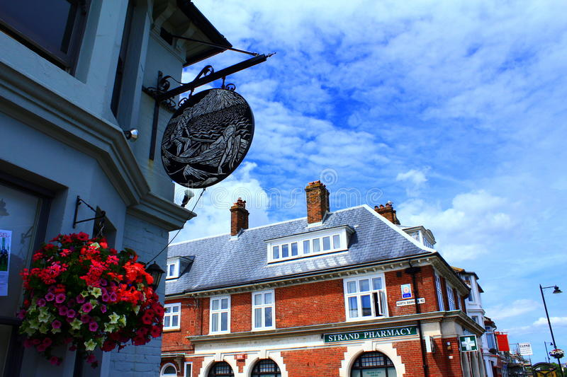 English town architectural details stock images