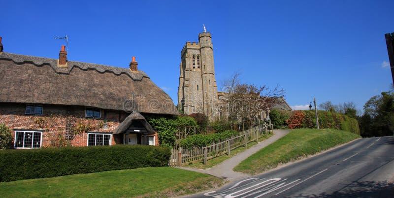 Download English Village Scene Stock Photography - Image: 14035972