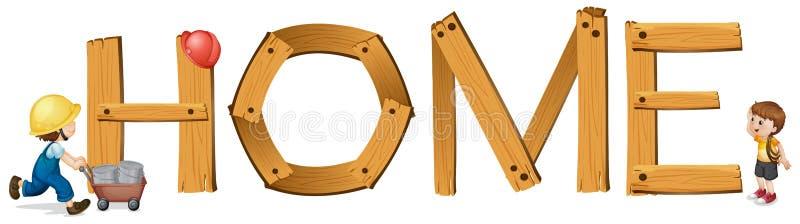 Download English Word Home Stock Image - Image: 31911771