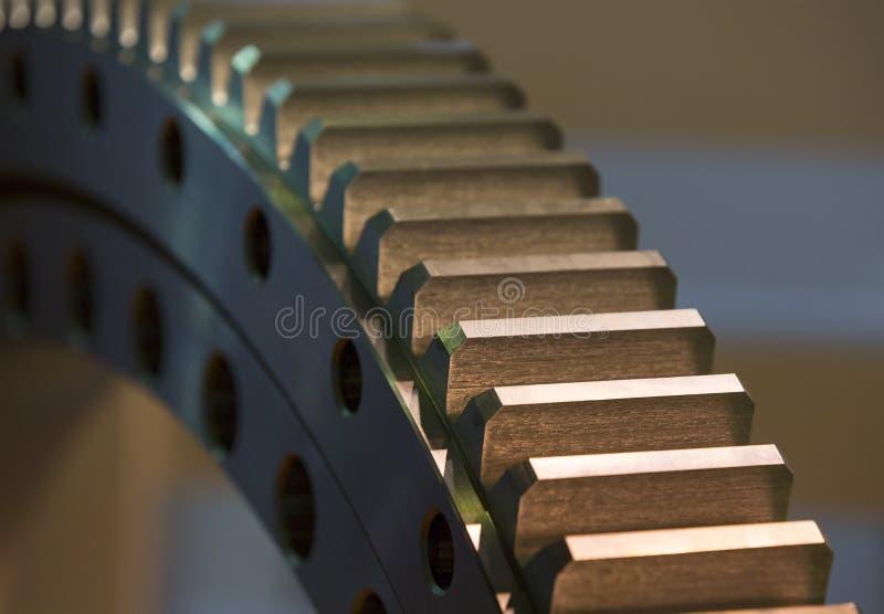 Engranaje de acero grande imagen de archivo