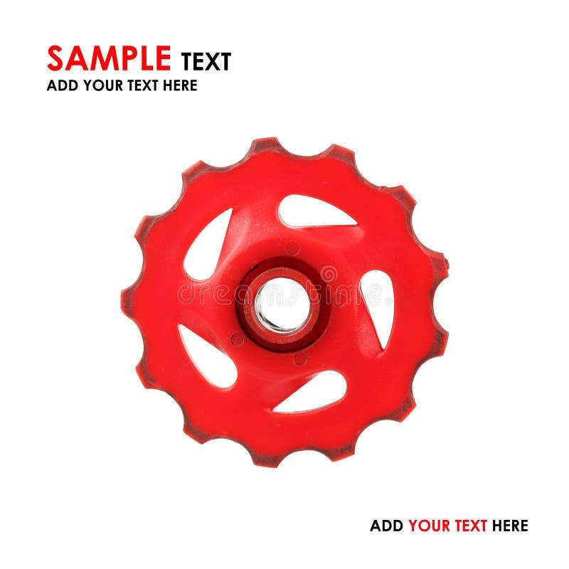 Engranaje rojo foto de archivo libre de regalías