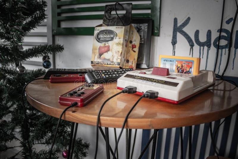 Engranaje viejo, retro del juego imágenes de archivo libres de regalías