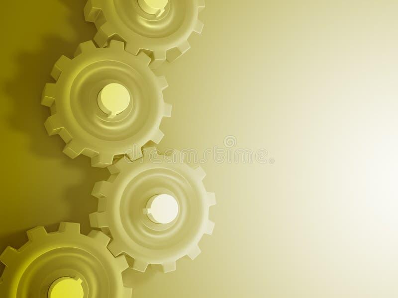 Download Engranajes stock de ilustración. Ilustración de máquina - 7150132