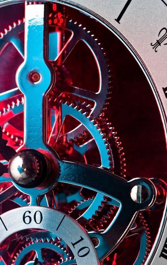 Engranajes del reloj foto de archivo libre de regalías