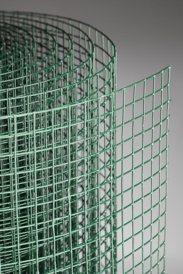 Engranzamento de fio verde fotografia de stock royalty free