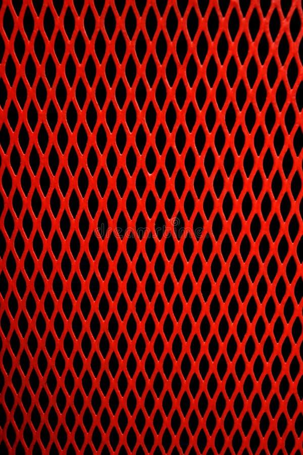 Engranzamento vermelho imagem de stock