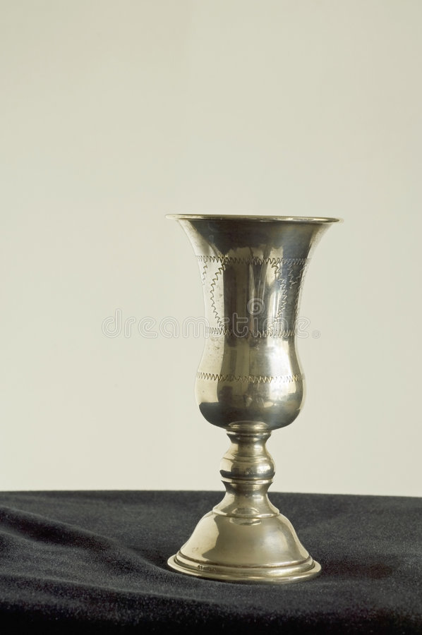 Download Engraved kiddish cup stock image. Image of colors, hanukkah - 6880337