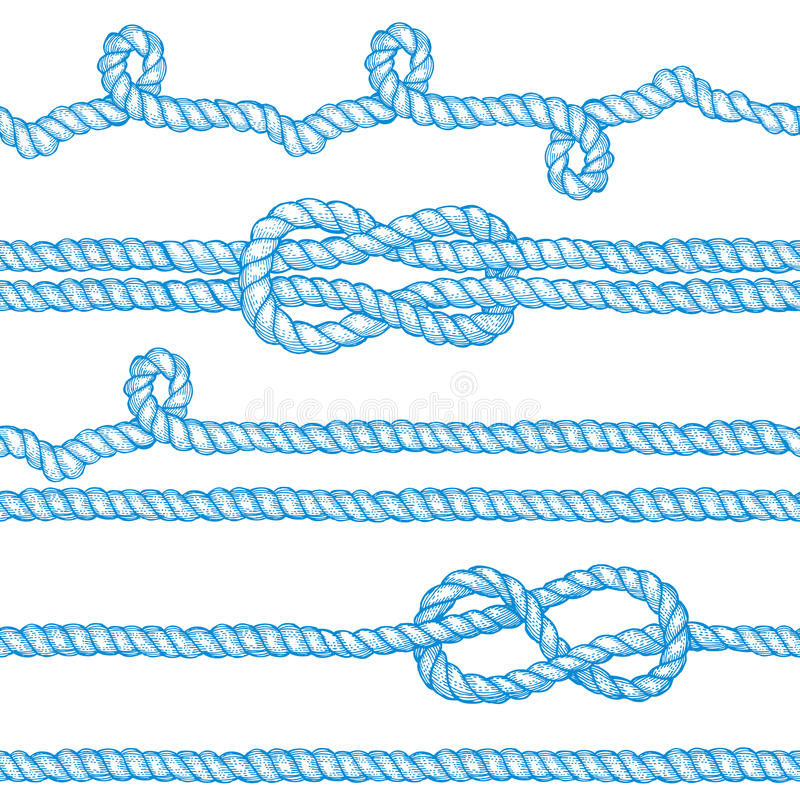 Free Engraved Ropes And Knots Royalty Free Stock Photography - 68798317