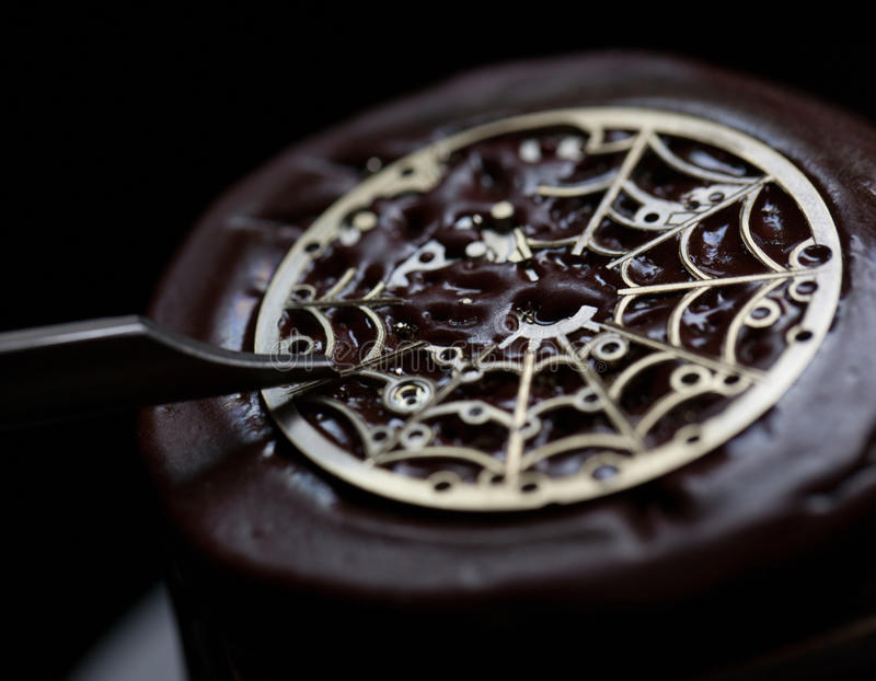 Download Engraving stock photo. Image of movement, part, wristwatch - 29058526