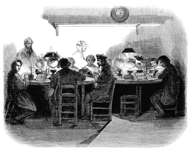 Engraving Workshop At Night Free Public Domain Cc0 Image