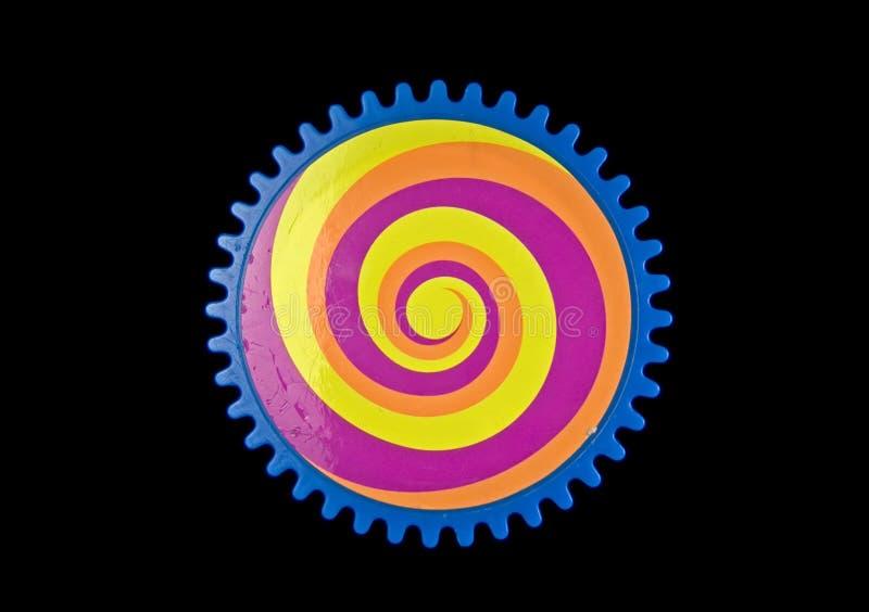 Engrenagem colorida ilustração do vetor