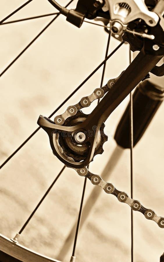 Engrenagem das bicicletas foto de stock royalty free