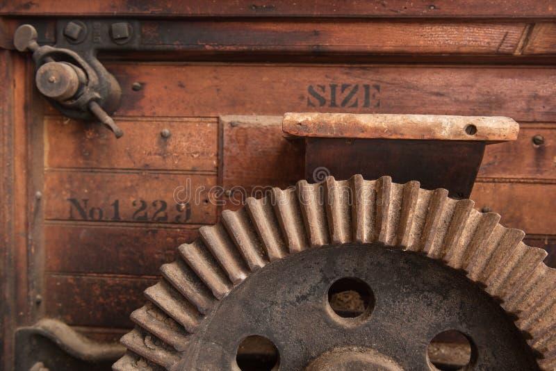 Engrenagem do close up fotos de stock