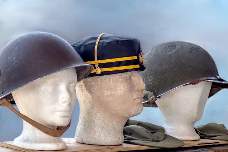 Engrenagem principal militar para soldados fotos de stock royalty free