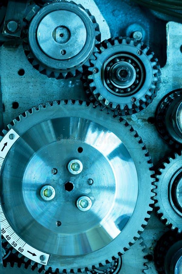 Engrenagens do mecanismo imagem de stock