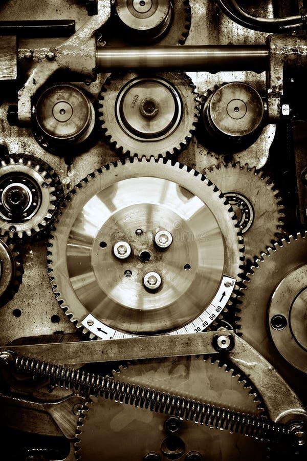 Engrenagens do mecanismo velho