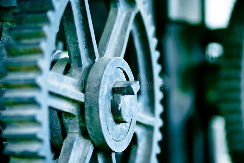 Engrenagens industriais fotografia de stock royalty free