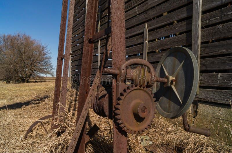 Engrenagens oxidadas foto de stock