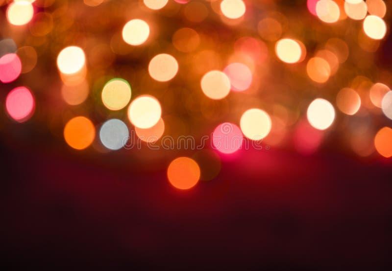 Enhaced Unschärfe der Leuchten stockbilder