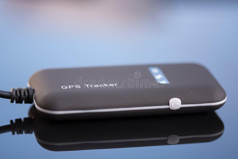 Enhet för apparat för GPS bilspårning arkivfoto