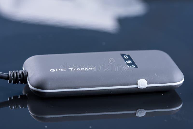 Enhet för apparat för GPS bilspårning royaltyfri fotografi