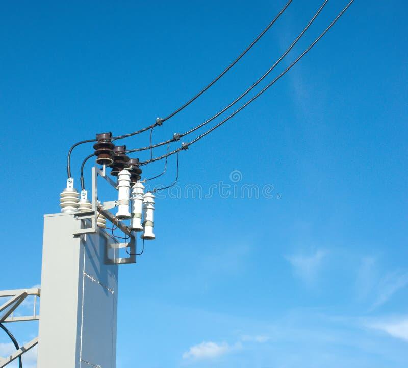 Enhet för elektrisk utrustning för utomhus- strömtillförsel royaltyfria foton
