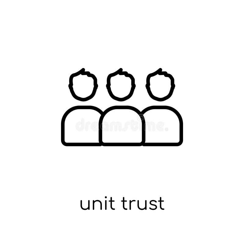 Enhetsförtroendesymbol  vektor illustrationer