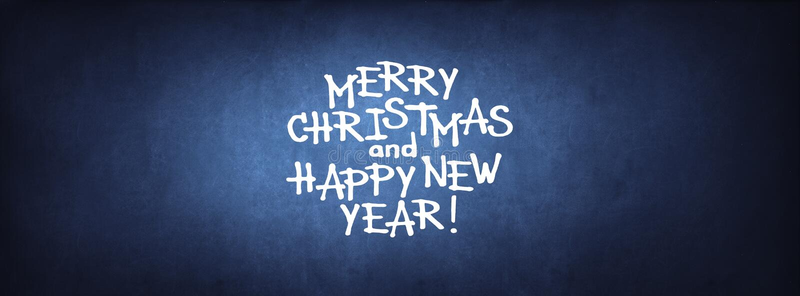 Enhorabuena de la Feliz Año Nuevo de la Feliz Navidad imágenes de archivo libres de regalías