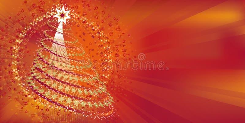 Enhorabuena de la Navidad stock de ilustración
