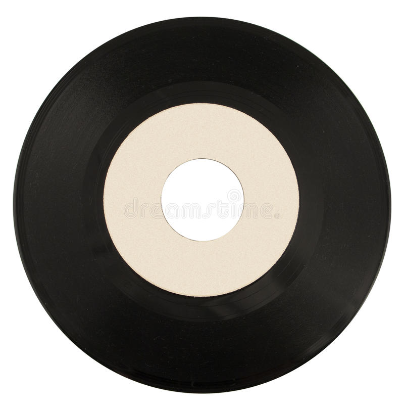 Enig vinylverslag royalty-vrije stock foto