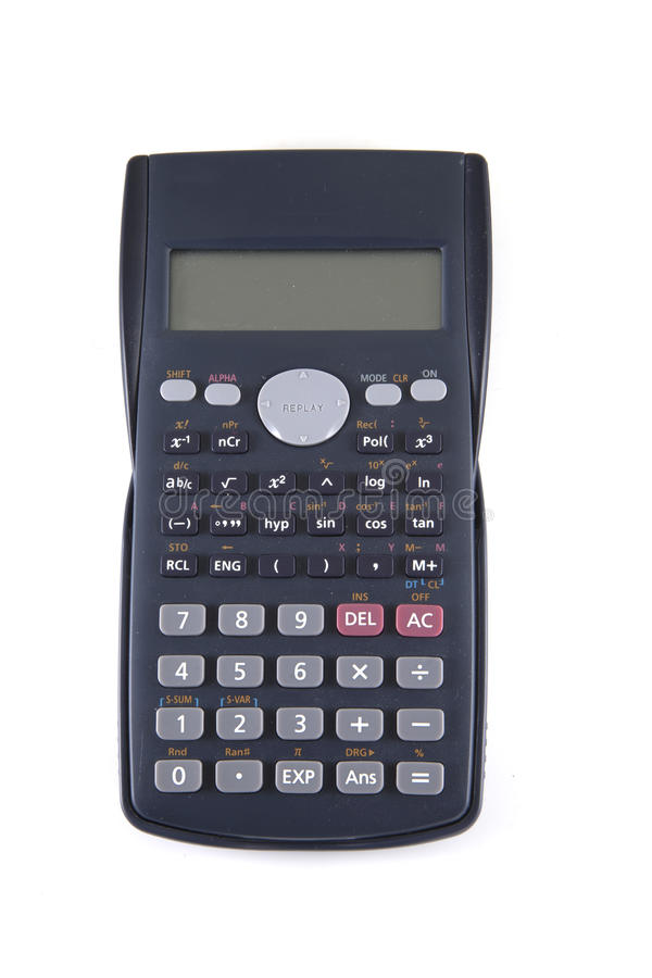 Enige calculator royalty-vrije stock fotografie