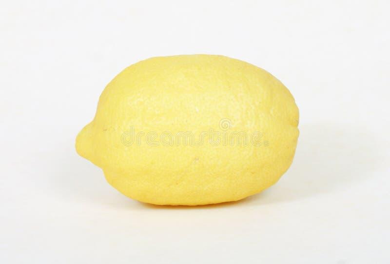 Enige citroen royalty-vrije stock fotografie